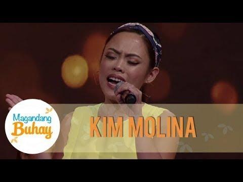 Kim Molina proves that she is a good performer | Magandang Buhay