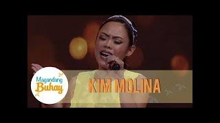 Kim Molina proves that she is a good performer   Magandang Buhay