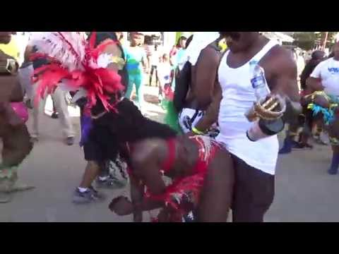 Serious wining at Trinidad Carnival Tuesday 2015 filmed by jonfromqueens thumbnail
