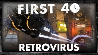 First 40 - Retrovirus (Gameplay)