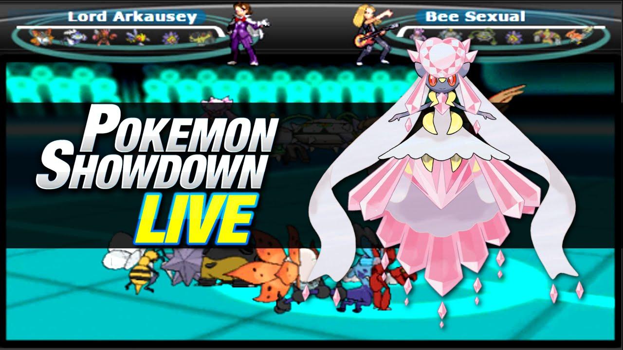 Pokemon Showdown: MegaDiancie Team feat. Glebber! [OU