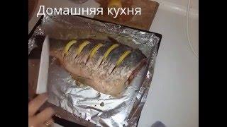 Приготовление коропа с лимоном в духовке