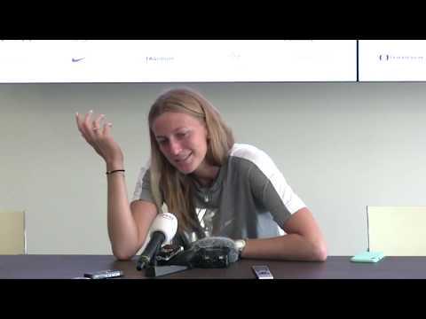 Petra Kvitová po vítězství v semifinále J&T Banka Prague Open