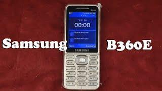 Распаковка Samsung B360E