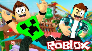 ROBLOX: MINIGAMES IN DOUBLE!! -(Ft. AuthenticGames)