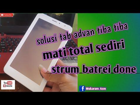 Tablet Advan Mati Total.