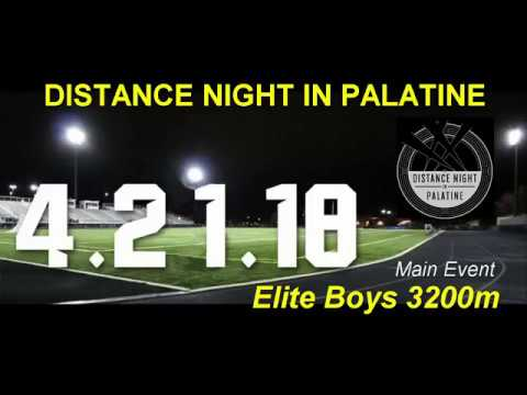 2018-04-21 Distance Night in Palatine Boys Elite 3200