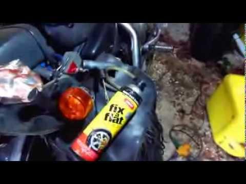 Motorcycle-Harley Emergency Tire Repair Kit.