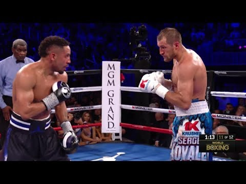 Andre Ward vs Sergey Kovalev 2 HIGHLIGHTS of the build up