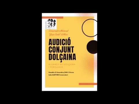Audició Conservatori Música d'ALCOI 22-12-18