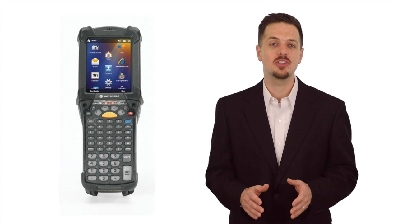 Mc9200 Barcode Scanner Youtube