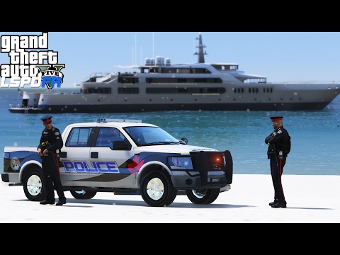 GTA 5 LSPDFR Police Mod 375 | Windsor Police Service Texture Pack | Trouble On The Del Perro Beach
