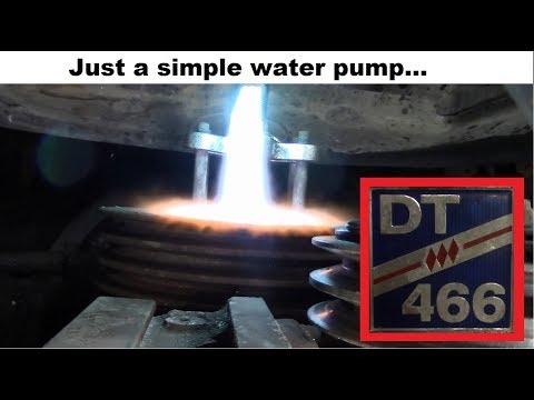 International DT466 Water Pump Adventures YouTube