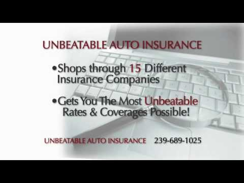 Unbeatable Auto Insurance