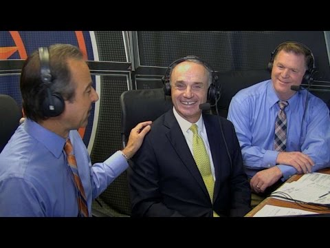 DET@HOU: Rob Manfred discusses Bob Watson and B.A.T.