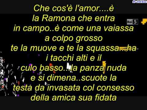 Vinicio Capossela - Che cos'è l'amor -  con testi.avi
