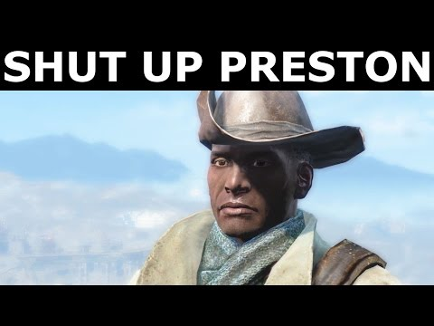 Fallout 4 Nuka World - Preston's Reaction After Taking Down Settlements (All Answers & Options)