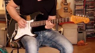 2014 Fender Stratocaster Custom Shop '64 Heavy Relic, L-Series - black, Part3