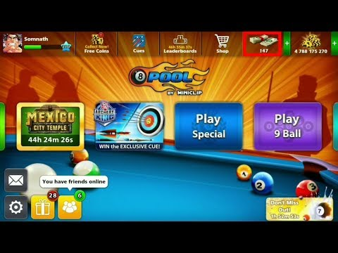 8 Ball Pool Cash Trick 100% Working 2017 December (updated new version)