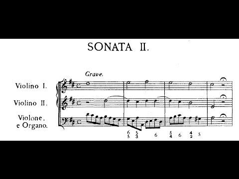 Corelli - Sonata da chiesa op. 3 n. 2 in Re maggiore (score)