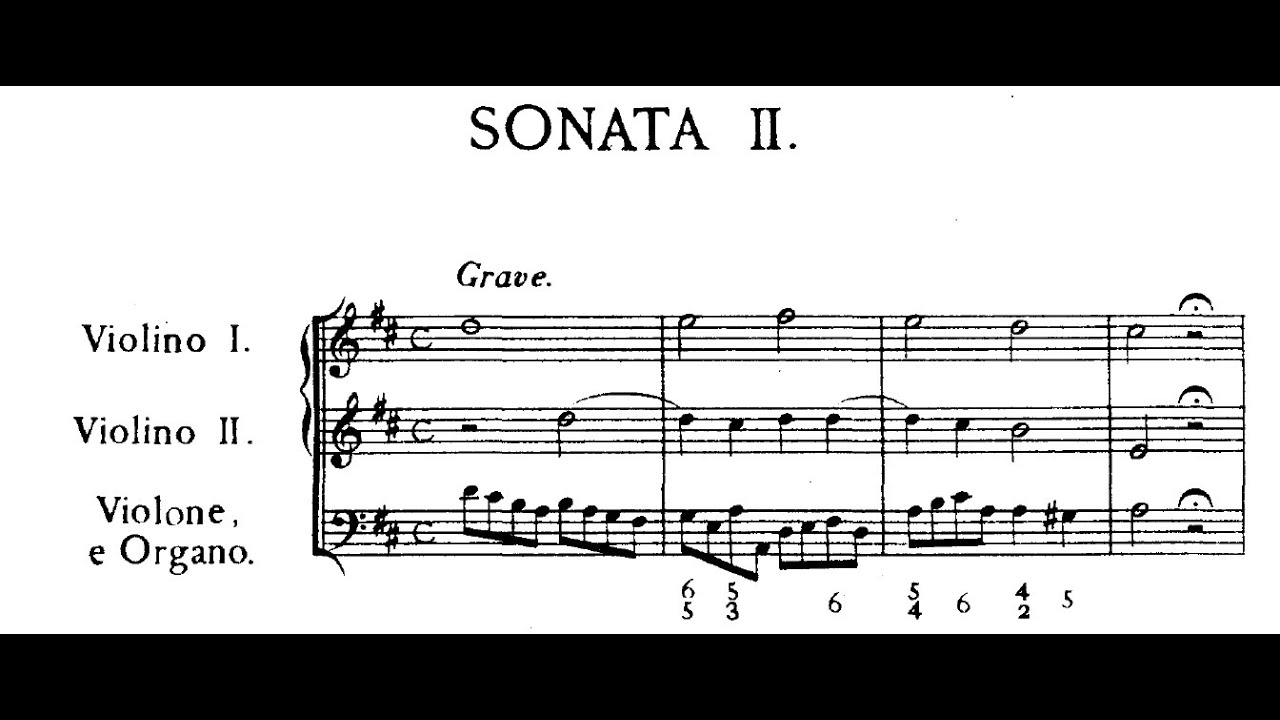 Trio Sonatain A Major  (score) - Op. 4, No. 3
