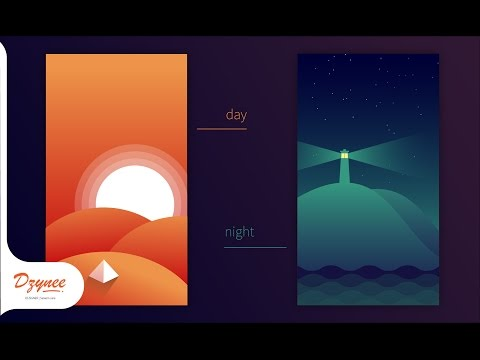 Illustrator Tutorials | Flat Mobile Wallpapers
