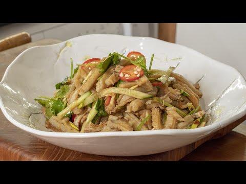 Мой самый любимый китайский салат и как приготовить вкусный рубец