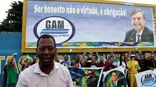 CARIOCAS HOMENAGEIAM JAIR BOLSONARO EM SÃO JOÃO DE MERITI/RJ