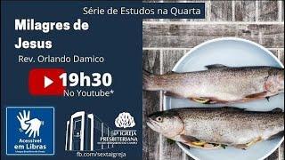 Milagres de Jesus: Pescas maravilhosas (Lc 5:1-11; Jo 21:1-15)   Rev. Orlando Damico [Libras]