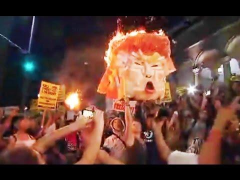 Anti-Trump Protests Erupt Across USA (VIDEO)