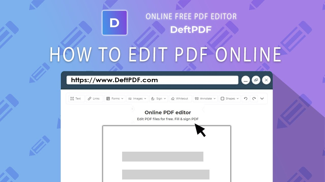 How to edit text in PDF: