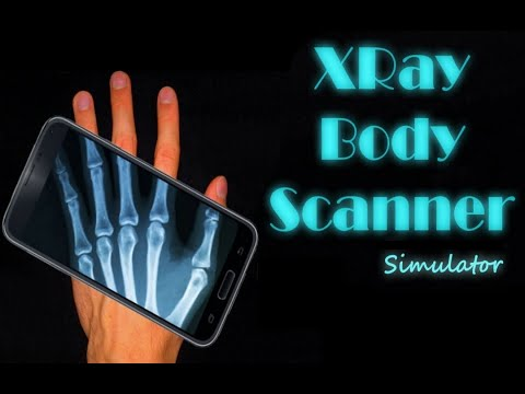 XRay Body Scanner Simulator