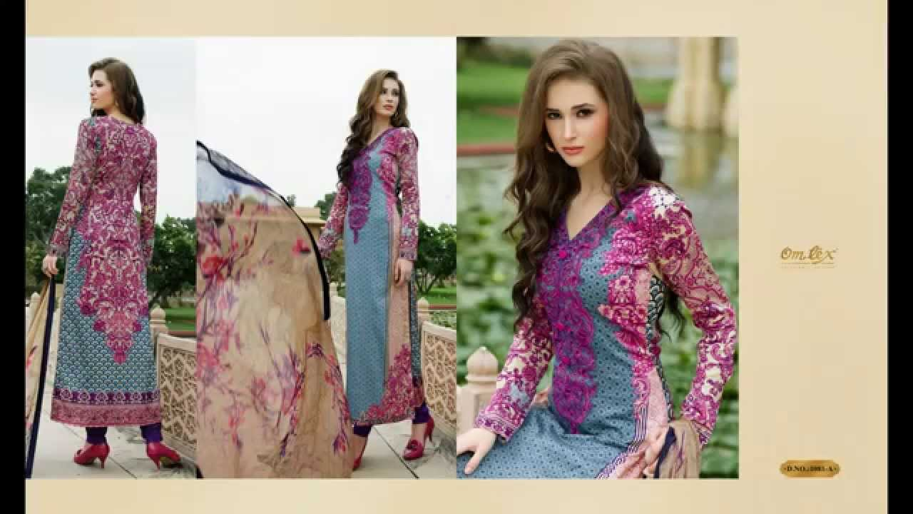Printed Salwar Kameez 2015 Catalogue