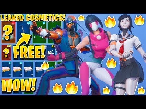 *NEW* ALL LEAKED FORTNITE SKINS & EMOTES..! *Free Birthday Items* (Astro Assassin, Reckless, Tsuki)