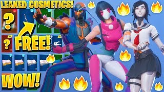 'NOUVEAU' ALL LEAKED FORTNITE SKINS et EMOTES..! Articles d'anniversaire gratuits (Astro Assassin, Reckless, Tsuki)