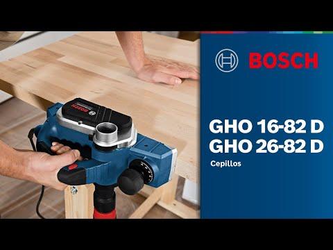 Видео обзор: Рубанок BOSCH GHO 26-82 D