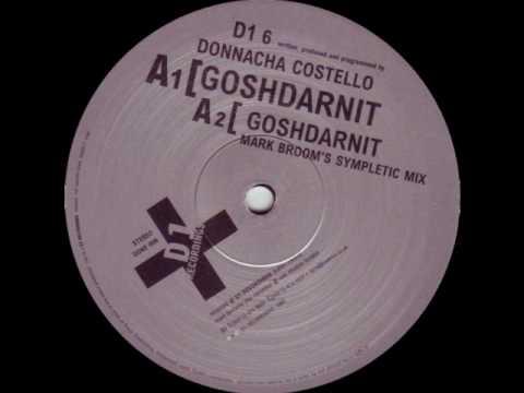 Donnacha Costello - Gosh Darnit (DONE006)
