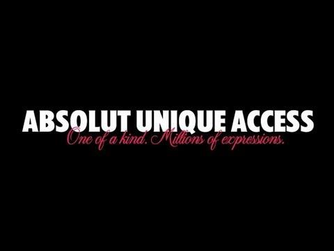 Absolut Unique Access - English