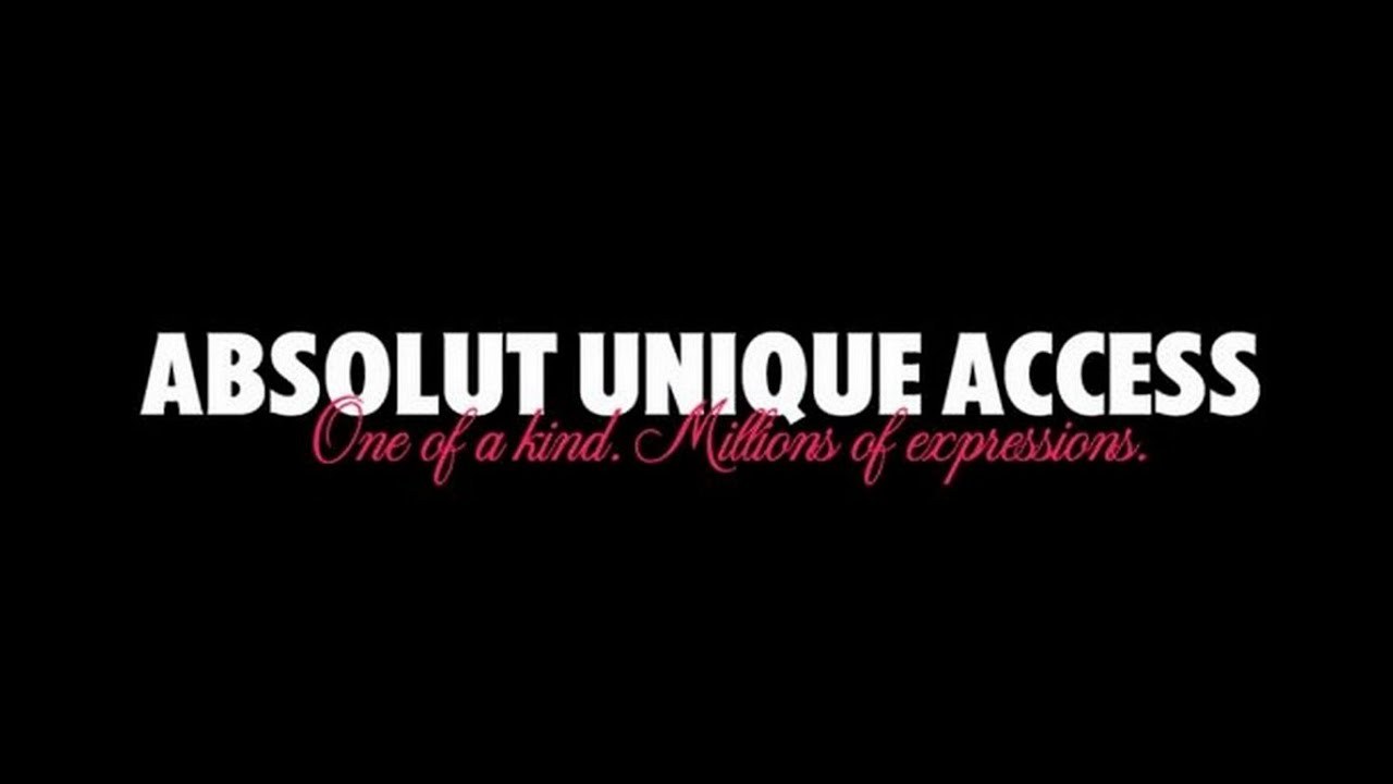 Absolut Unique Access English