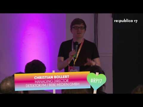 re:publica 2017 - Christian Bollert: Wie Podcasts mehr Leute erreichen können on YouTube