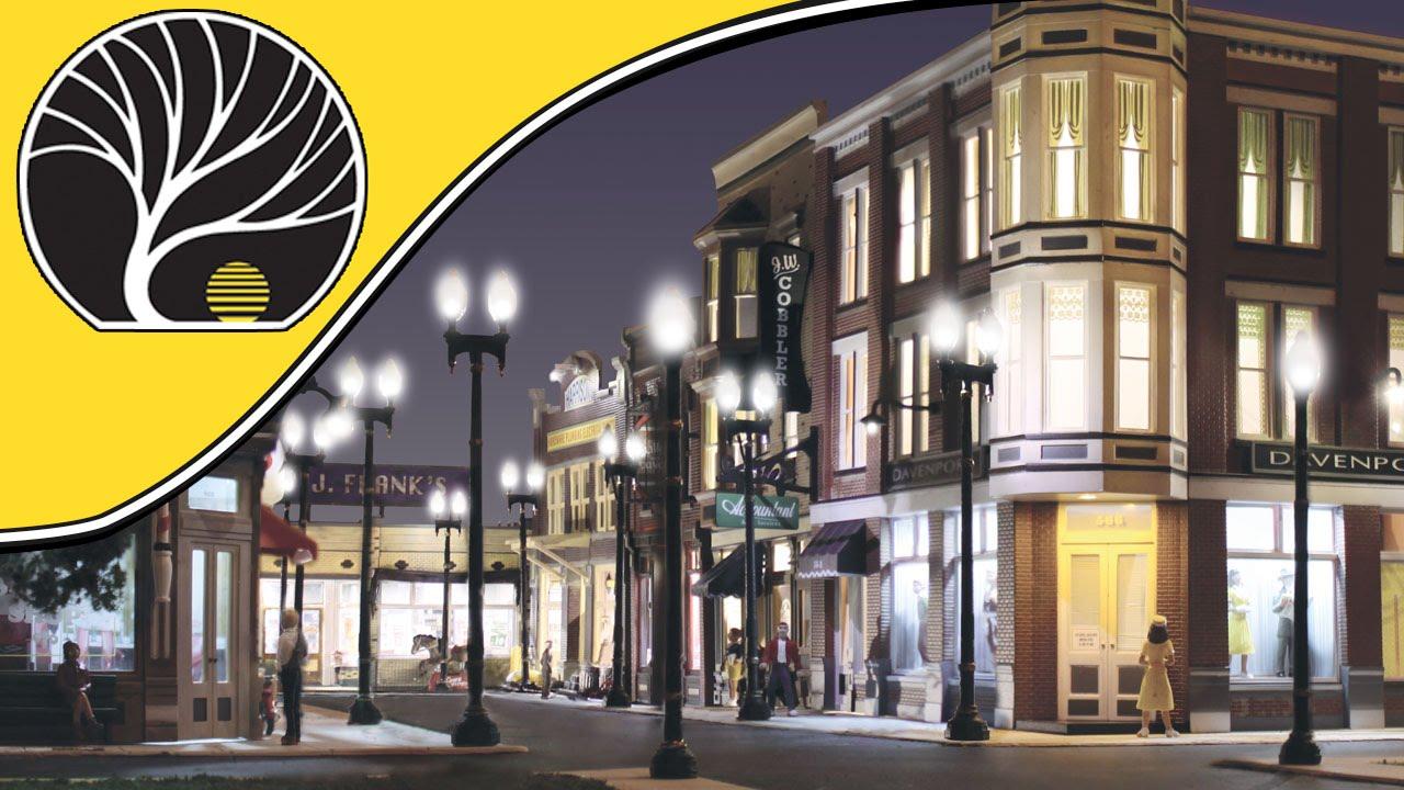 Street Lights | Just Plug® Lighting System | Woodland Scenics | Model  Scenery