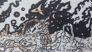 Animus, Illustrational Sketch. Live 004