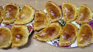 """Как приготовить вкусные и сочные Караимские пирожки """"Кибины"""". Быстрая выпечка"""