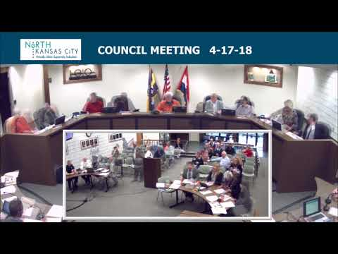 City of North Kansas City Regular Council Session 4-17-18