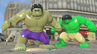 LEGO Marvel's Avengers - Hulk Open World Super Jumping (Character Showcase)