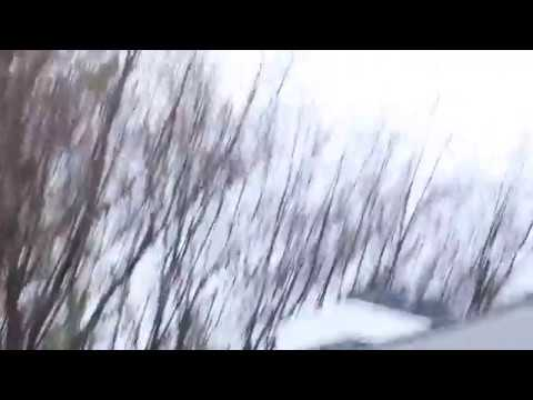 First Snow Fall Of Charlotte Nc 2017 Youtube