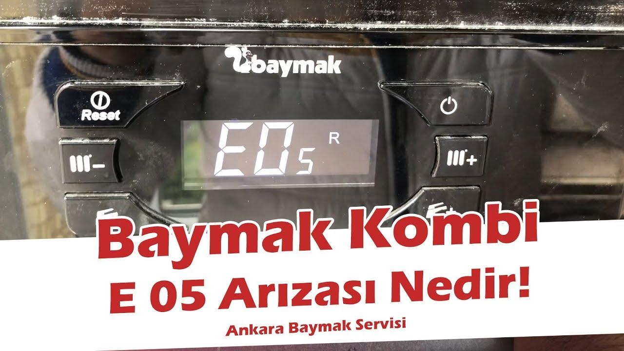 Baymak Kombi E05 Arızası Nedir? İstanbul Baymak Kombi Servis Hizmeti Veriyorumuyuz?