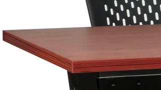 Mobile Flip-top Training Table