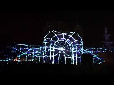 White Night Melbourne 2018 Exhibition Buildings Carlton Gardens 3D Projection Mapping