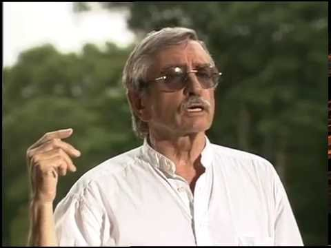 Edward Albee improvs as an Hungarian poet, a terrorist, and someone speaking to a dear.